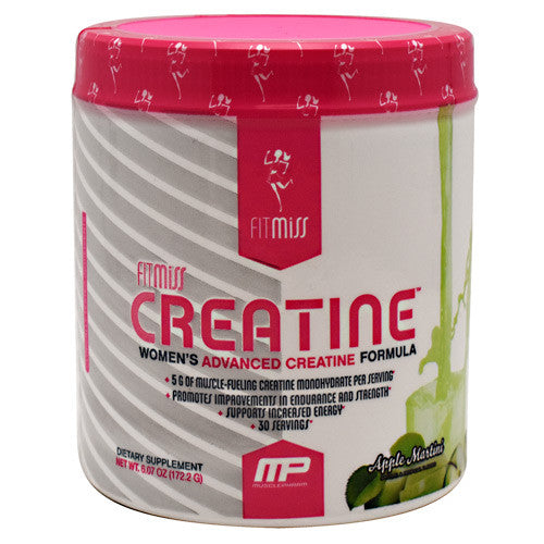 Fit Miss Creatine - Apple Martini - 30 Servings - 019962523526