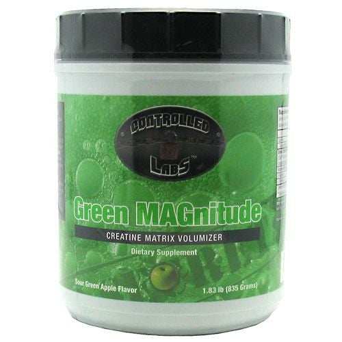 Controlled Labs Green Magnitude - Sour Green Apple Flavor - 1.83 lb - 895328001347