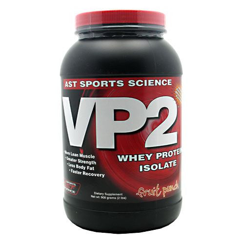 AST Sports Science VP2 Whey Protein Isolate - Fruit Punch - 2 lb - 705077002857