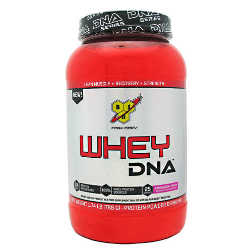 BSN DNA Whey - Strawberry Cream - 25 Servings - 834266002894