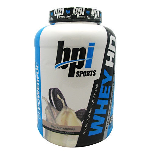 BPI Whey-HD - Milk and Cookies - 57 Servings - 811213021511