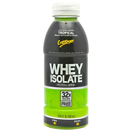 CytoSport Whey Isolate RTD - Tropical - 12 Bottles - 00876063003469