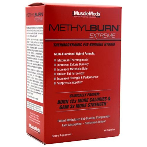 Muscle Meds MethylBurn Extreme - 60 Capsules - 891597002429