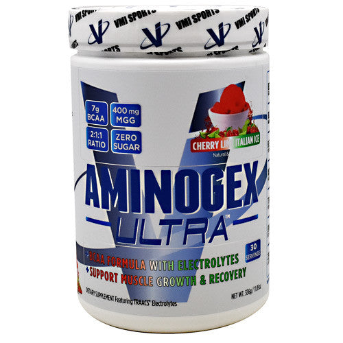 VMI Sports Aminogex Ultra - Cherry Lime Italian Ice - 30 Servings - 850748005474