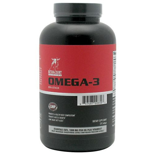 Betancourt Nutrition Omega-3 EFA-Stack - 270 Softgels - 857487003303