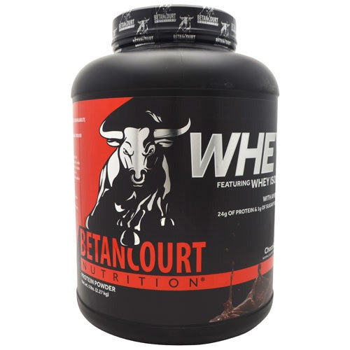Betancourt Nutrition Whey - Chocolate - 5 lb - 857487004959