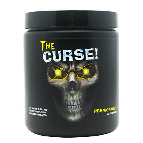 Cobra Labs The Curse - Lemon Rush - 50 Servings - 609728229276