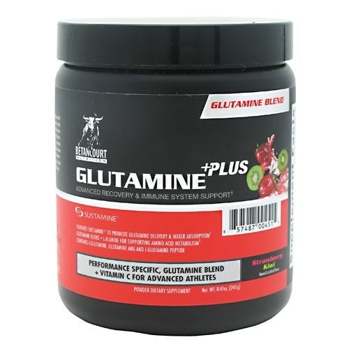 Betancourt Nutrition Glutamine Plus - Strawberry Kiwi - 30 Servings - 857487004515