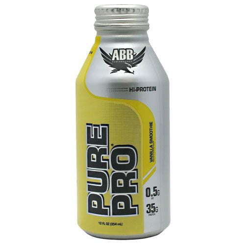 ABB Pure Pro - Vanilla Smoothie - 12 Bottles - 00045529856721