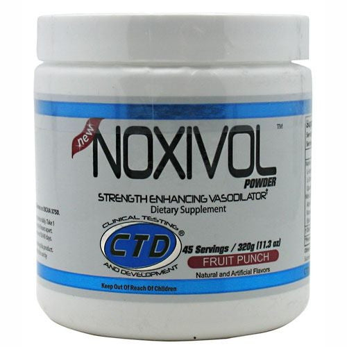 CTD Noxivol - Fruit Punch - 45 Servings - 696859122798