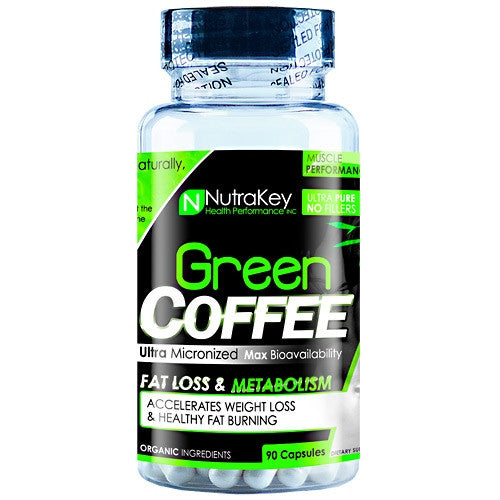 Nutrakey Green Coffee - 90 Capsules - 045635774643