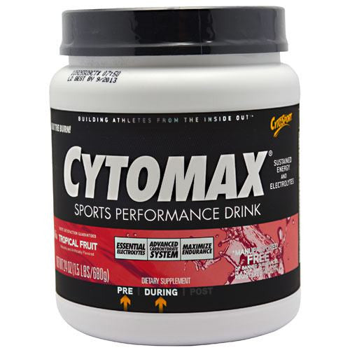 CytoSport Cytomax - Tropical Fruit - 24 oz - 660726103500