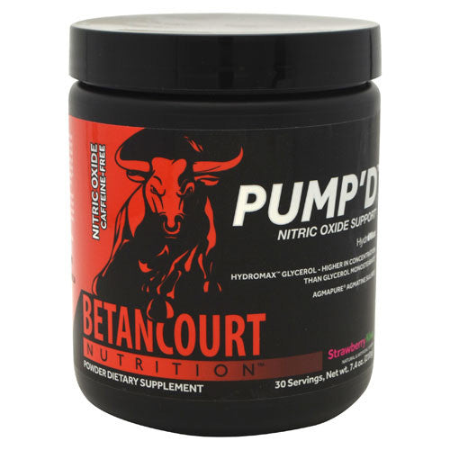Betancourt Nutrition Pumpd - Strawberry Kiwi - 30 Servings - 857487004539