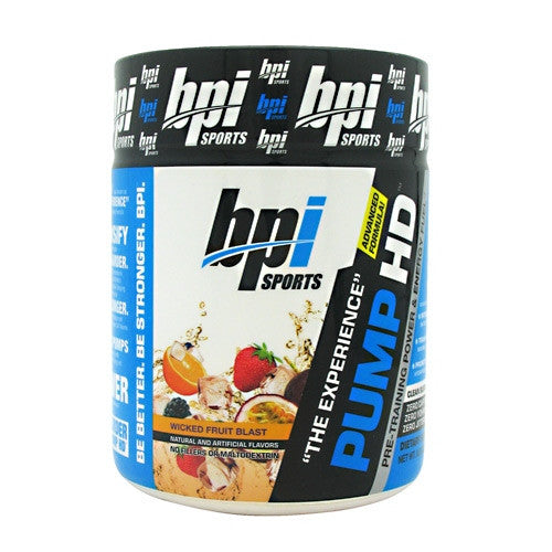 BPI Pump HD - Wicked Fruit Blast - 25 Servings - 811213022488