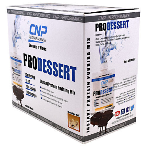 CNP Performance ProDessert - Chocolate - 10 Packets - 683623201018