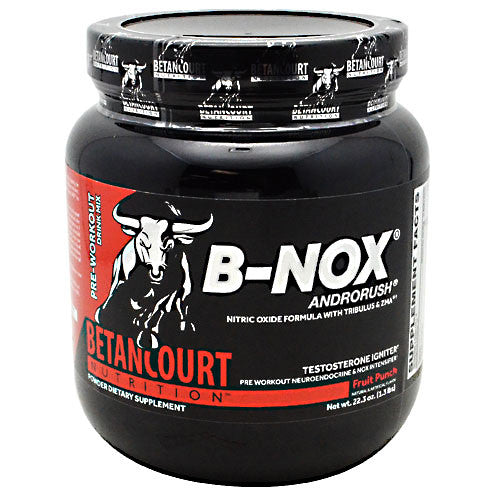 Betancourt Nutrition B-Nox - Fruit Punch - 35 Servings - 857487004973