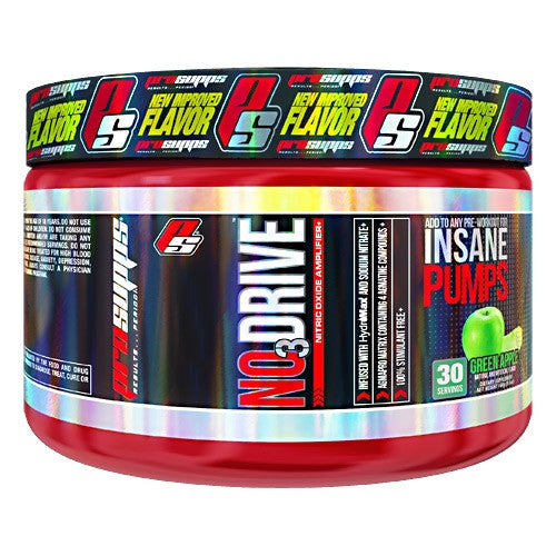 Pro Supps NO3 Drive - Green Apple - 30 Servings - 682055407814