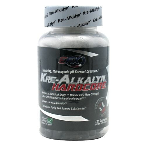 All American EFX Kre-Alkalyn Hardcore - 120 Capsules - 737190002346