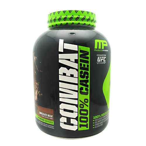 Muscle Pharm Hybrid Series Combat 100% Casein - Chocolate Milk - 4 lb - 696859260599