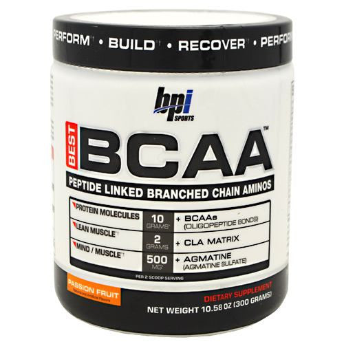 BPI Best BCAA - Passion Fruit - 30 Servings - 851780006313