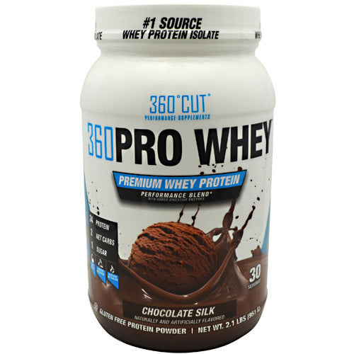 360Cut 360 Pro Whey - Chocolate Silk - 30 Servings - 850829006260