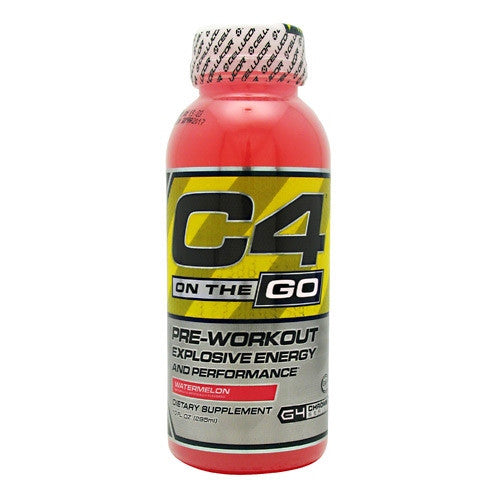 Cellucor C4 RTD - Watermelon - 12 Bottles - 810390026494