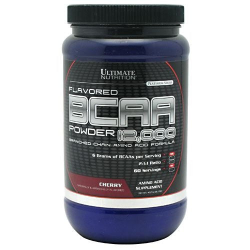 Ultimate Nutrition BCAA 12,000 - Cherry - 457 g - 099071004413