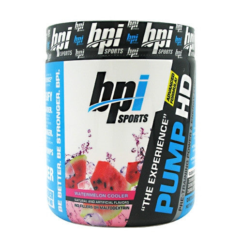 BPI Pump HD - Watermelon Cooler - 25 Servings - 811213023270