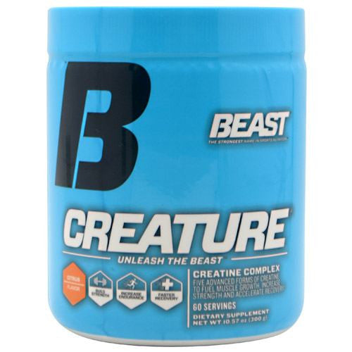 Beast Sports Nutrition Creature - Citrus Flavor - 60 Servings - 631312801018