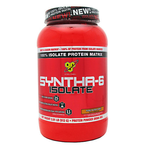 BSN Isolate Syntha-6 - Peanut Butter Cookie - 2 lb - 834266002733