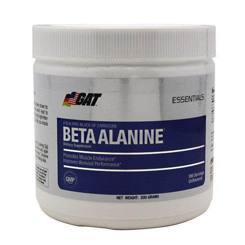 GAT Beta Alanine - Unflavored - 200 g - 859613220035