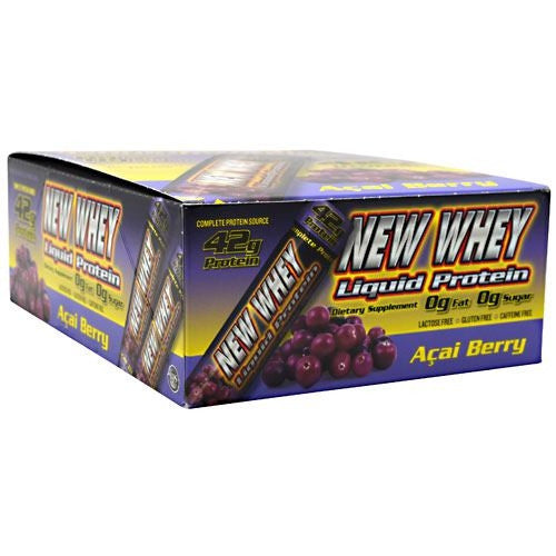 New Whey Nutrition New Whey Liquid Protein - Acai Berry - 12 ea - 675941002620