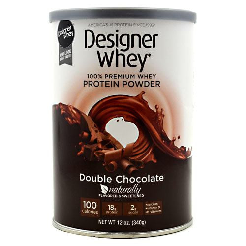 Designer Protein Designer Whey - Double Chocolate - 12 oz - 844334008116
