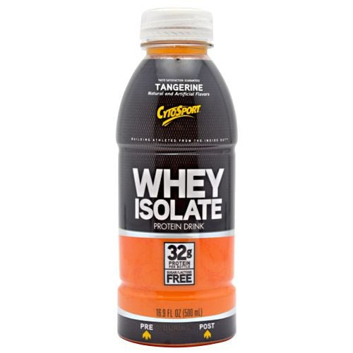 CytoSport Whey Isolate RTD - Tangerine - 12 Bottles - 00876063003452