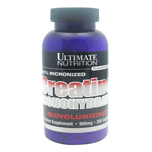Ultimate Nutrition Platinum Series Creatine Monohydrate - 200 Capsules - 099071000538