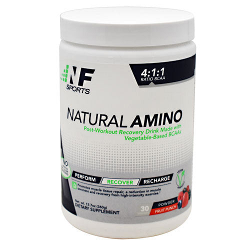 NF Sports Natural Amino - Fruit Punch - 30 Servings - 850666007031