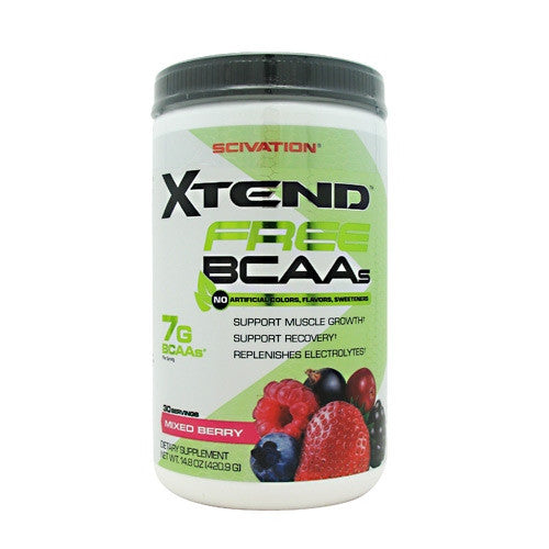 Scivation Xtend Free - Mixed Berry - 30 Servings - 181030000984