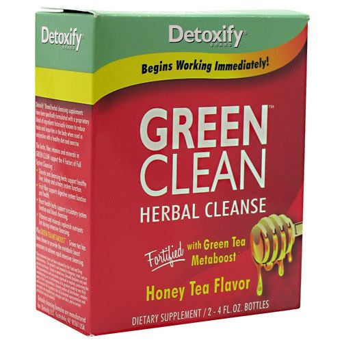Detoxify LLC Green Clean - Honey Tea - 2 Bottles - 870434000002