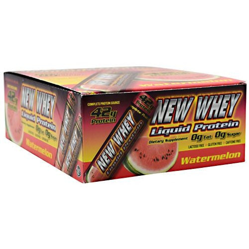 New Whey Nutrition New Whey Liquid Protein - Watermelon - 12 ea - 675941003009