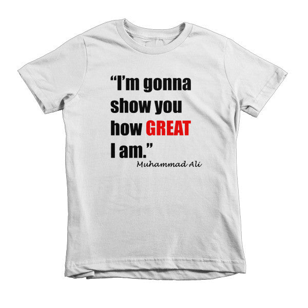 Short sleeve kids - Great I am