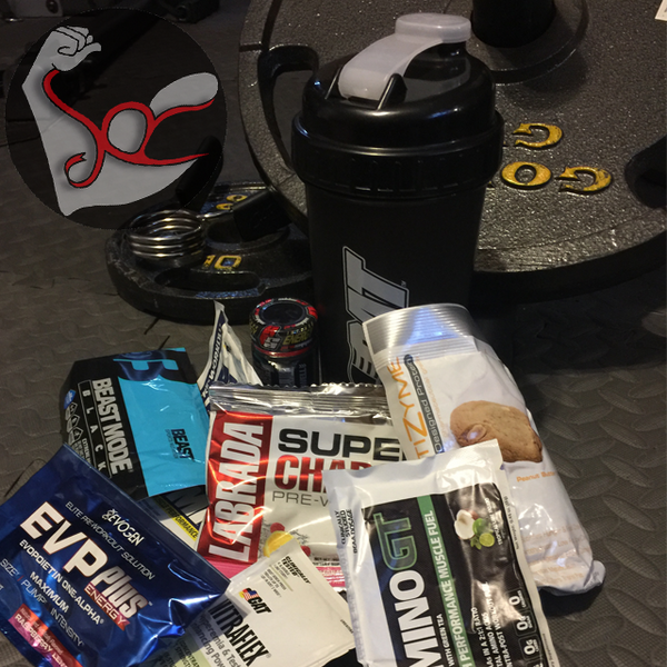 Pre-Workout Pack w/Shaker