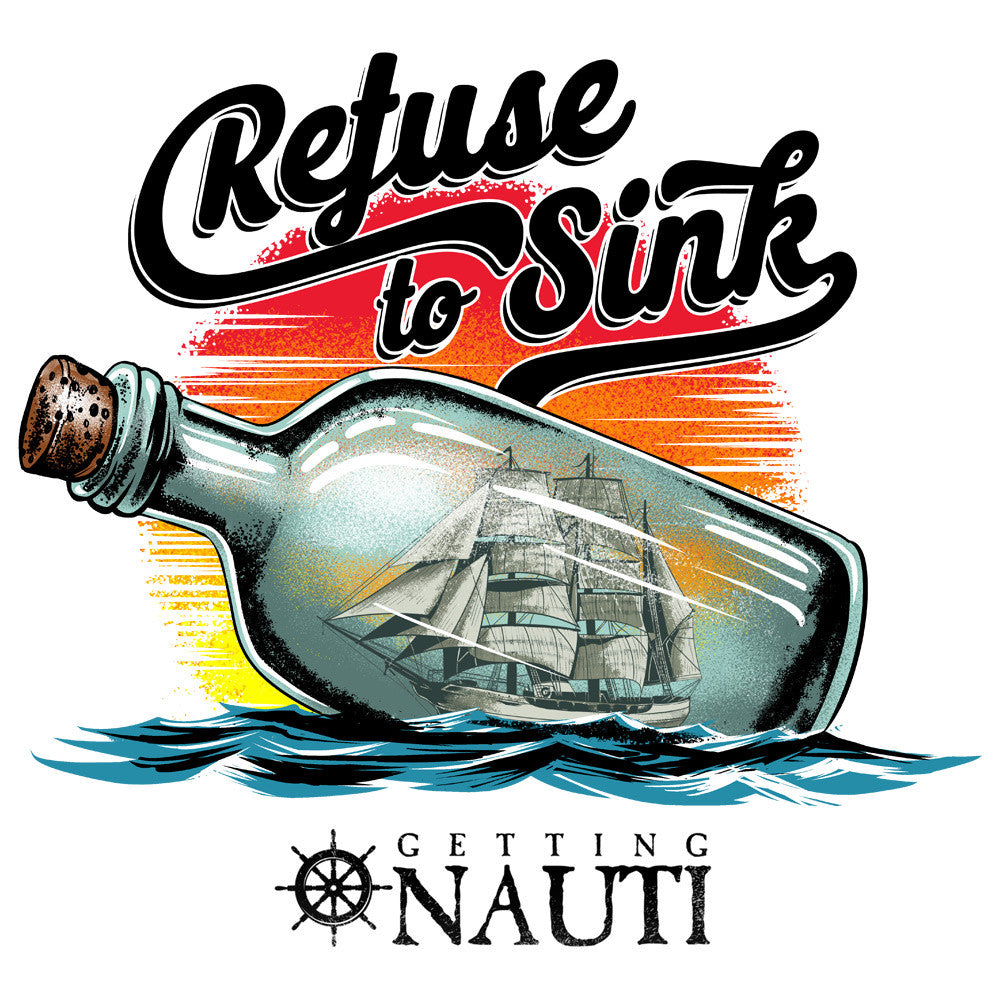 "Forget the ""Anchor"" —  Use a Ship-In-Bottle to  ""Refuse to Sink"""