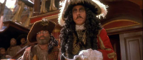 Captain James Hook and Smee