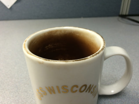 "A ""seasoned"" mug"