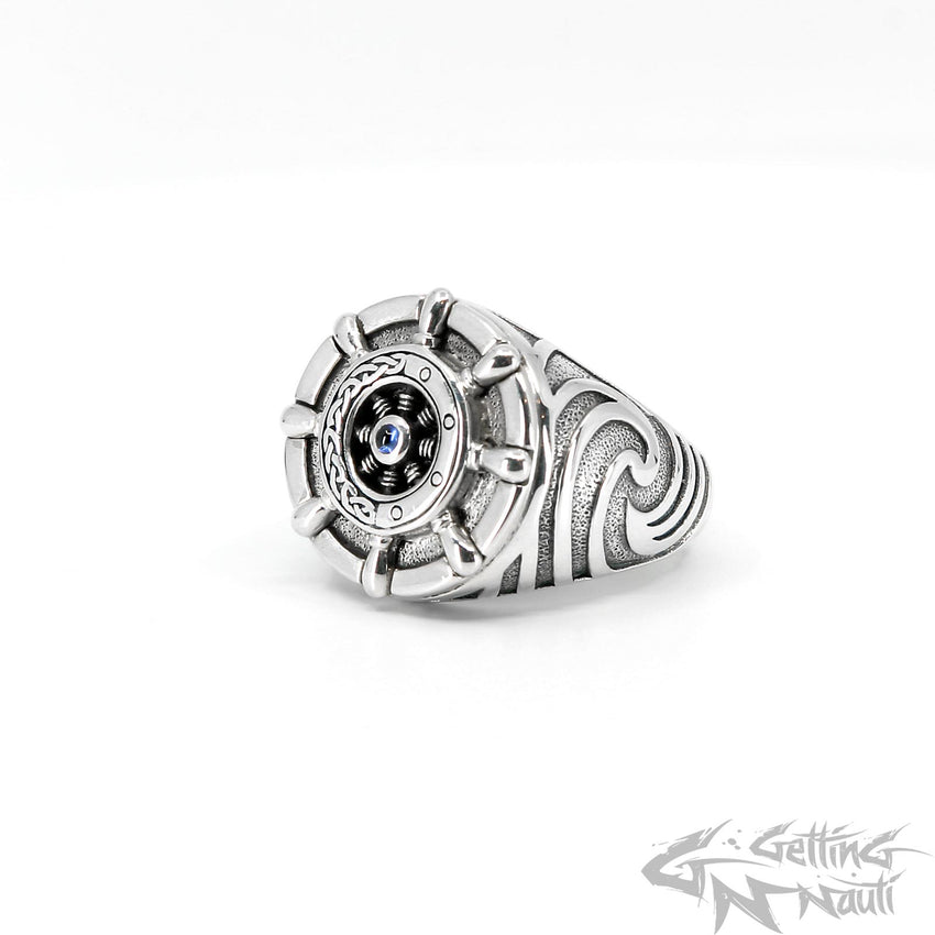 WYSIWYG - The Captain - Custom Sterling Silver Ring - Size 12