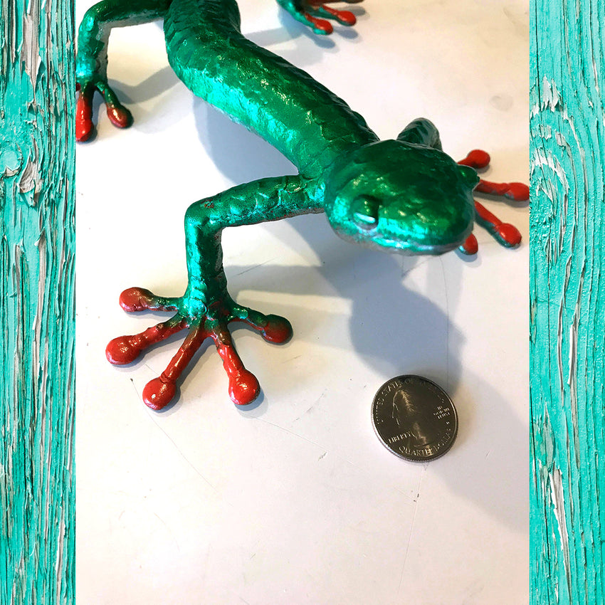 WYSIWYG Custom Art Piece - Large Gecko