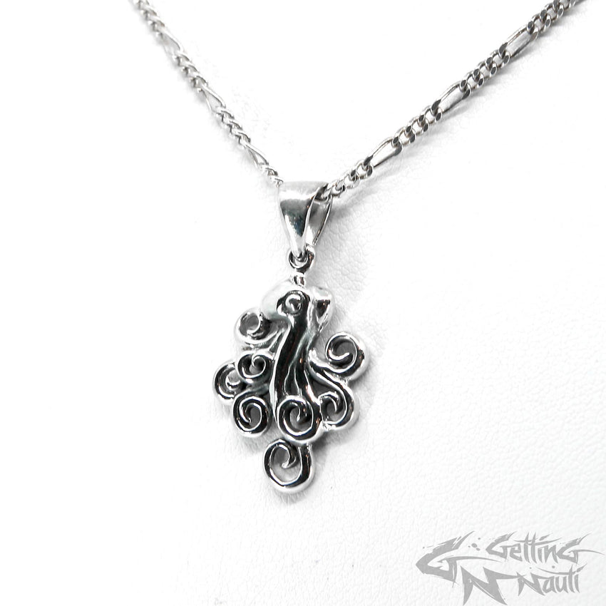 WYSIWYG - Custom Sterling Silver Octopus Necklace