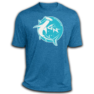 Retro Hammerhead -  Dri-Fit Moisture-Wicking T-Shirt