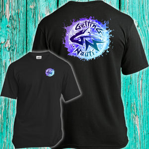 Blue Splash Super-Soft T-Shirt