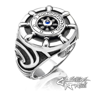 The Captain - Custom Sterling Silver Ring